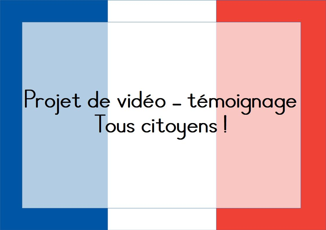 """You are currently viewing Projet """"Tous Citoyens"""""""