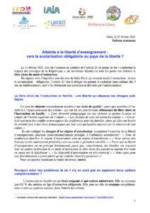 Read more about the article Atteinte à la liberté