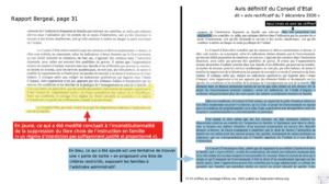 Rapport Bergéal : Sommes-nous devant un déni de République?